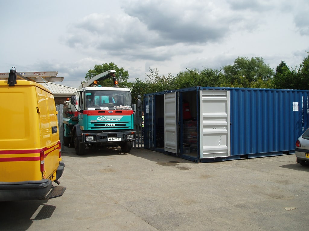 container Car-parks photo